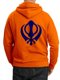 zipped-khanda-hoodie-orange-rear